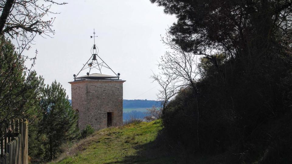 21.02.2016 Campanar església Santa Maria   La Guàrdia Lada -  Ramon Sunyer
