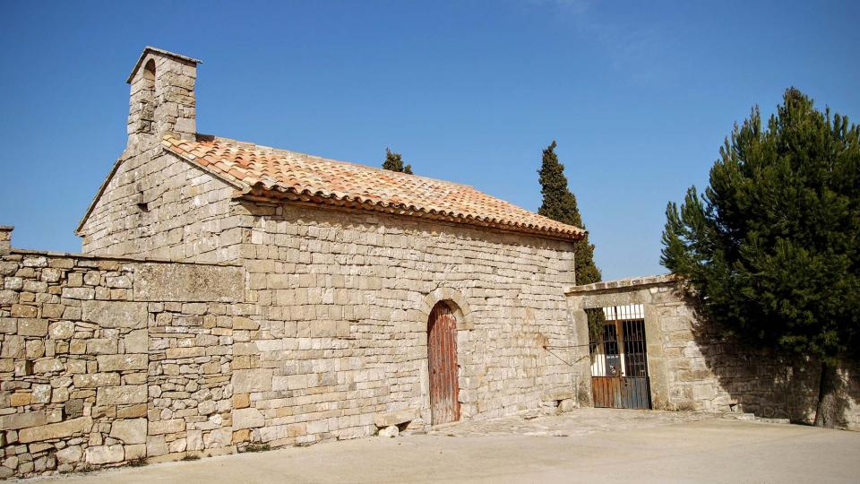 21.02.2016 Església Mare de Déu del Coll romànic s XI  La Guàrdia Lada -  Ramon Sunyer