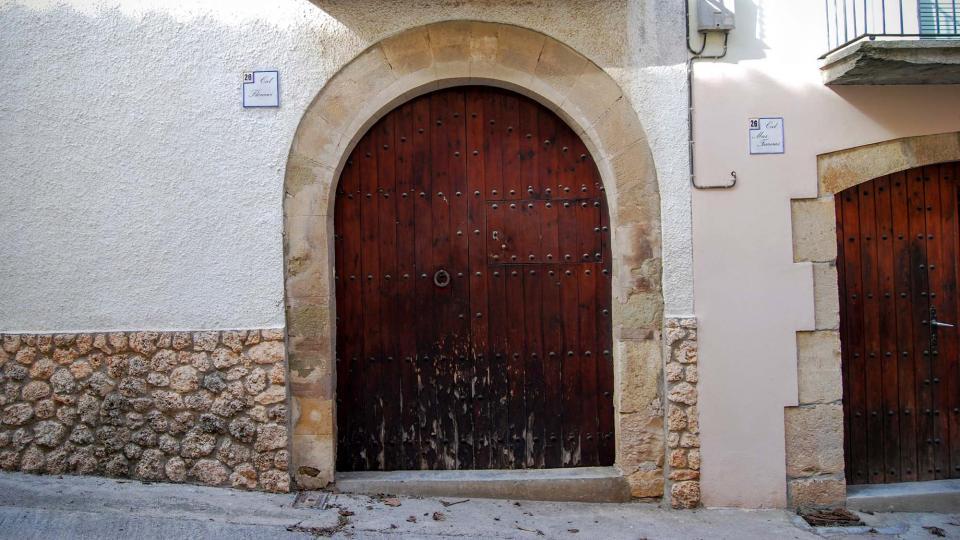 21.02.2016 detall porta  La Guàrdia Lada -  Ramon Sunyer