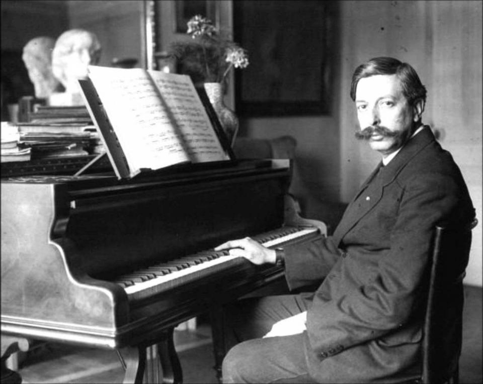 Enric Granados,  compositor i pianista català, homenatjat al Festival de Pasqua - Cervera