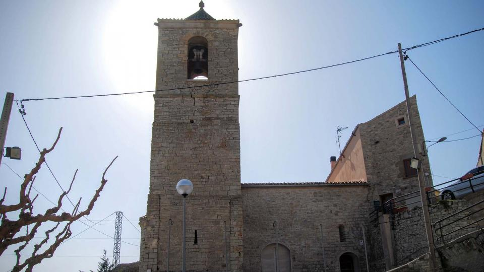 21.02.2016 Església romànica de Santa Maria  Rubinat -  Ramon Sunyer