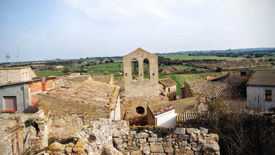 21.02.2016 Església de Santa Maria s XII  Gramuntell -  Ramon Sunyer