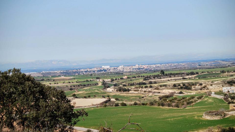 21.02.2016 Vista des de Gramuntell  Cervera -  Ramon Sunyer