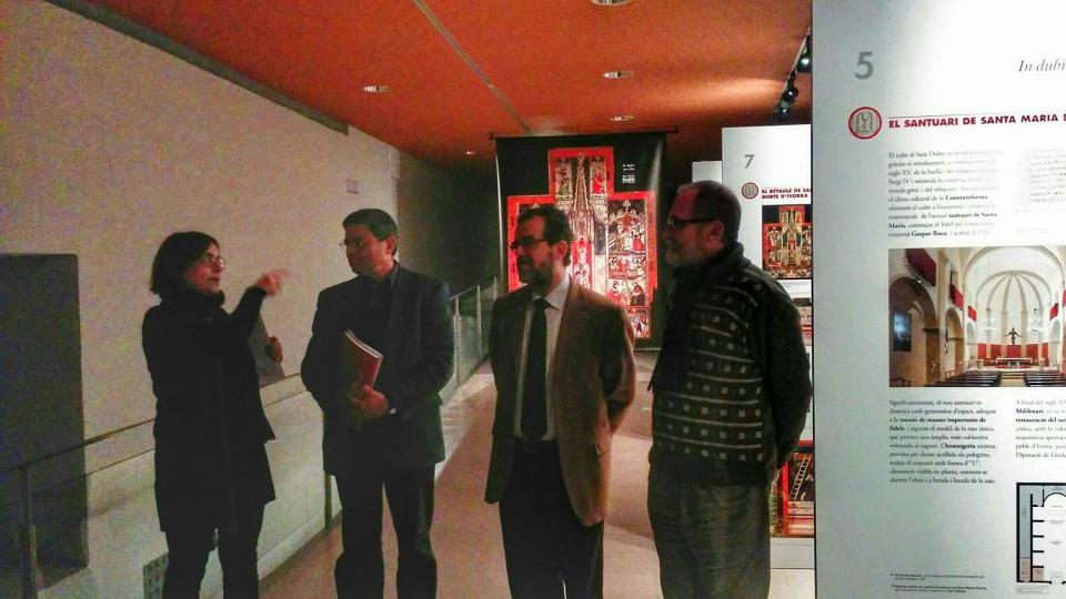 17.02.2016 Exposició 'In dubio pro Deo'  Cervera -  Ramon Sunyer