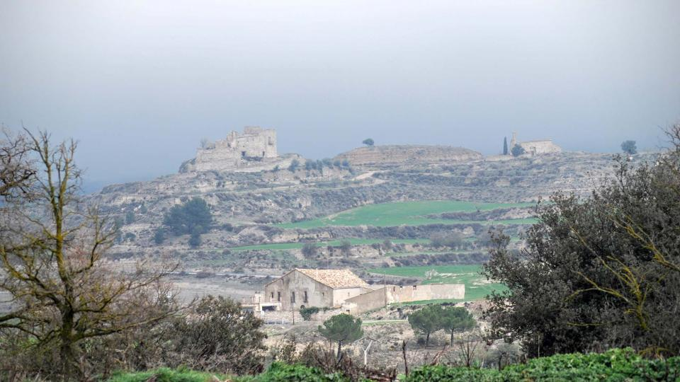 28.02.2016 Castell i església de sant Jaume de Timor  Sant Pere dels Arquells -  Ramon Sunyer