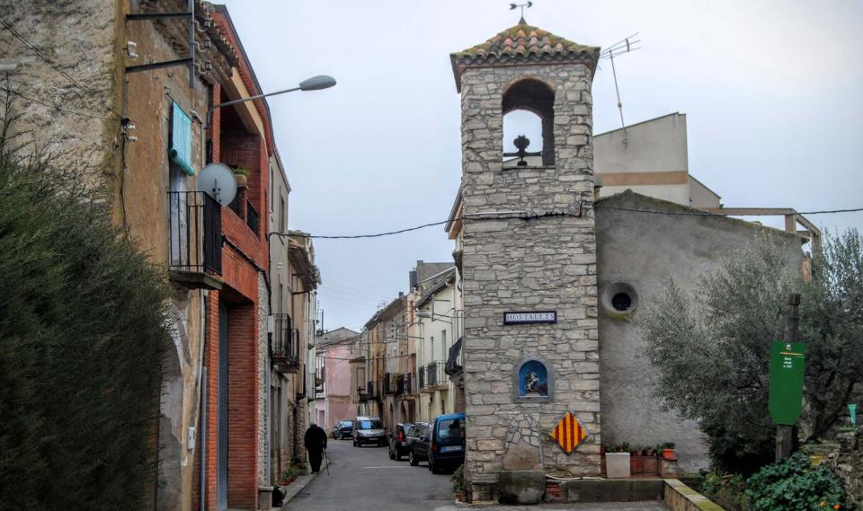 28.02.2016 Capella de Sant Jordi s XVI  Els Hostalets -  Ramon Sunyer