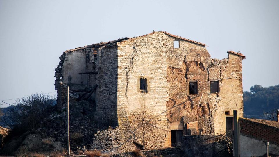 Castle of la Móra - Author Ramon Sunyer (2016)