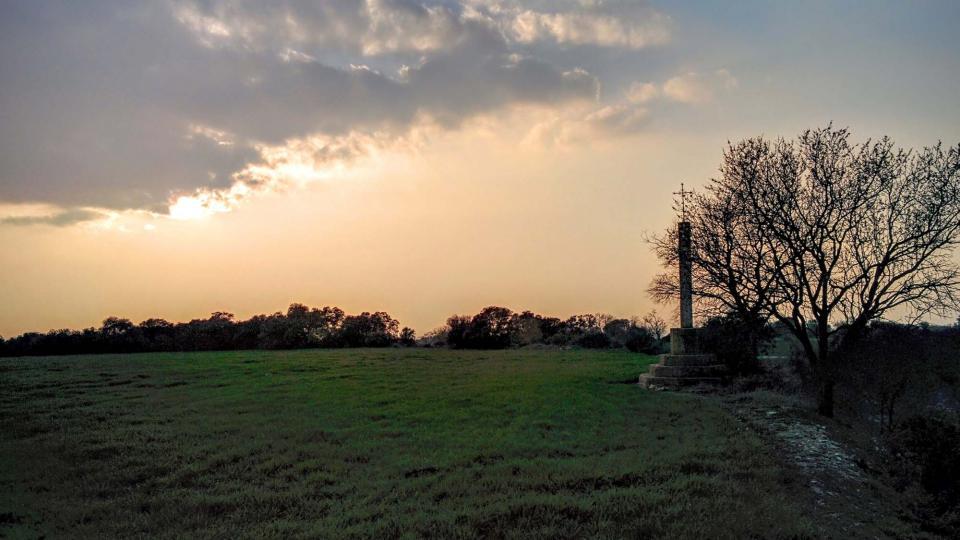 13.03.2016 paisatge  Granyena de Segarra -  Ramon Sunyer