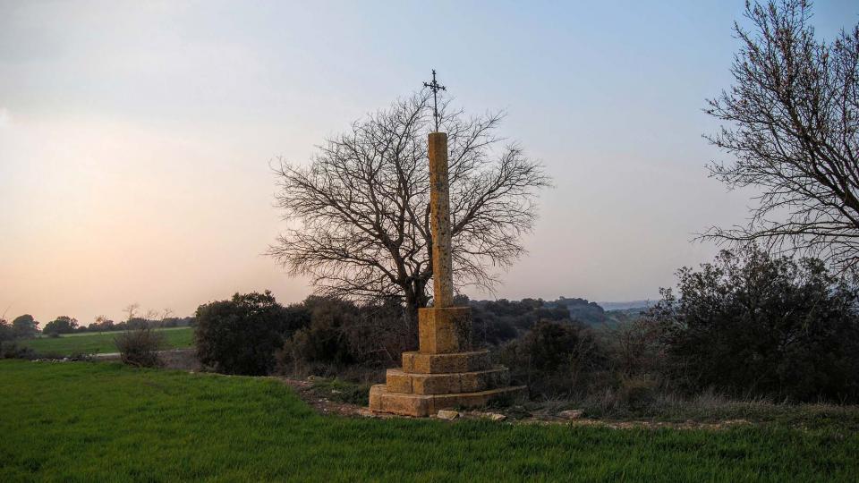 Wayside cross of Granyena - Author Ramon Sunyer (2016)