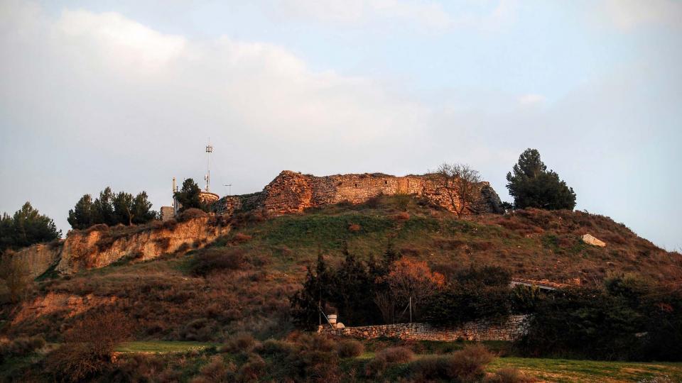 13.03.2016 Castell templer gòtic s XVI  Granyena de Segarra -  Ramon Sunyer