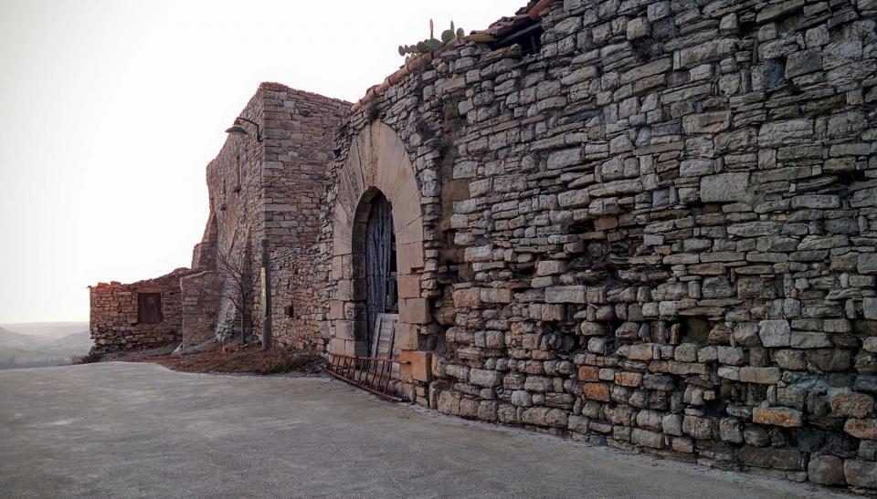 13.03.2016 Castell templer  Granyena de Segarra -  Ramon Sunyer