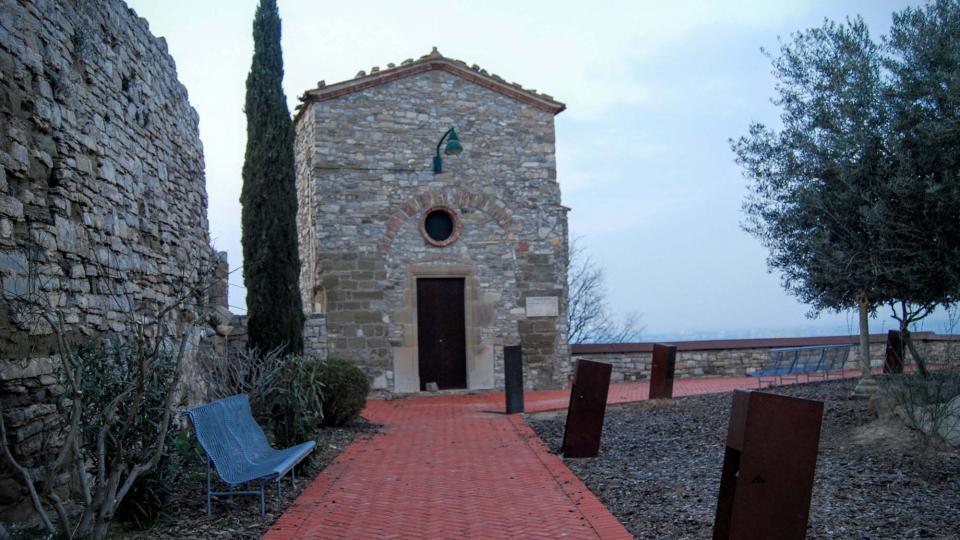 13.03.2016 Capella del Cementiri Vell  Granyena de Segarra -  Ramon Sunyer