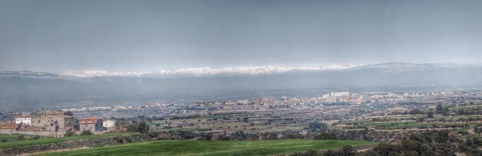 17.02.2016 Cervera i el Pirineu nevat  La Sisquella -  Ramon Sunyer