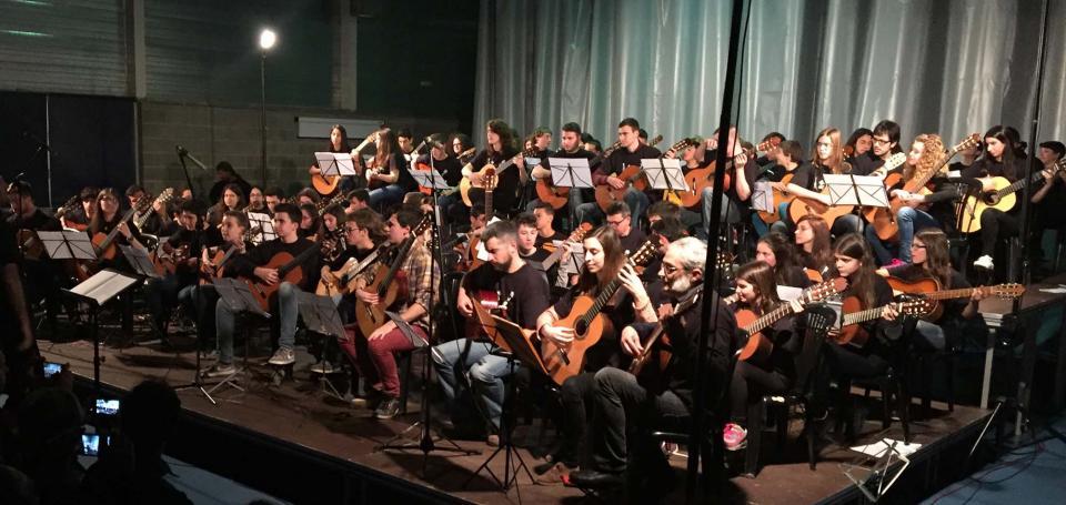 19.03.2016 XII trobada de Guitarres de Lleida  Guissona -  Aj Guissona