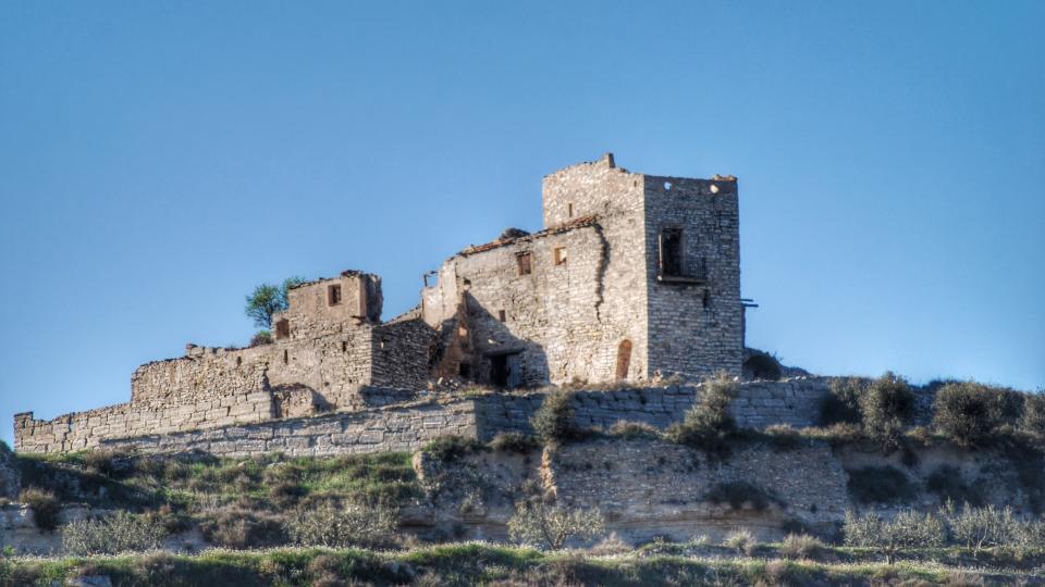 02.04.2016 castell de Timor  Sant Pere dels Arquells -  Ramon Sunyer