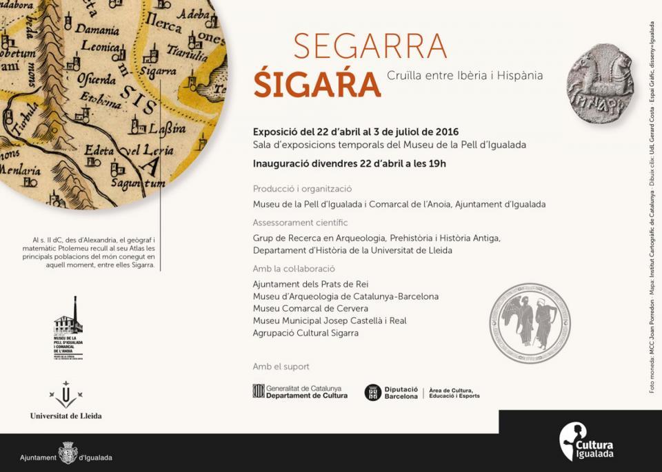 cartell Exposició Segarra Sigara -