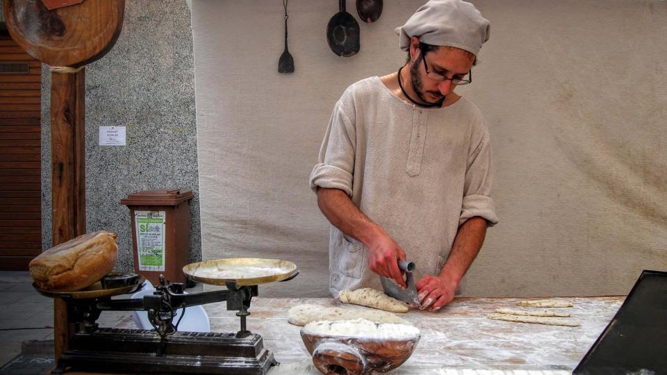 10.04.2016 fent pa  Calaf -  Ramon Sunyer