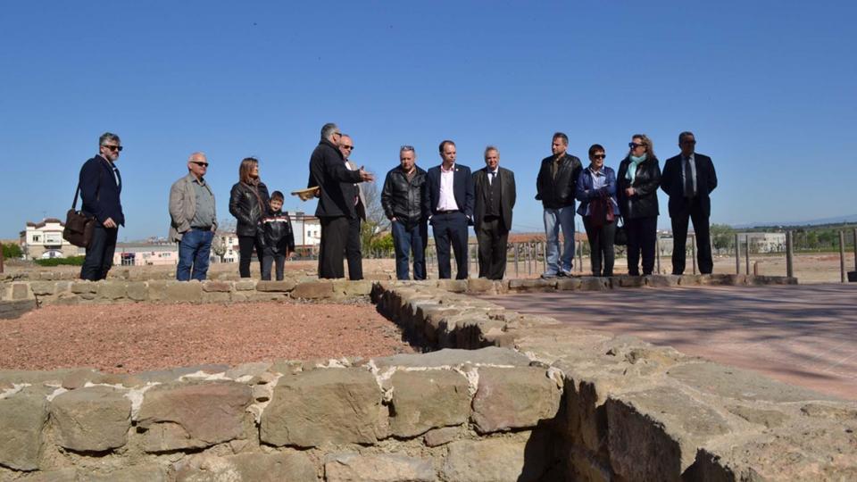 Visita al Parc Arqueològic de Guissona nova seu del Campus d'Arqueologia de la UAB - Guissona