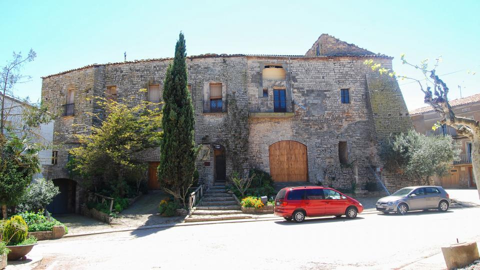 24.04.2016 castell  Sant Guim de la Plana -  Ramon Sunyer