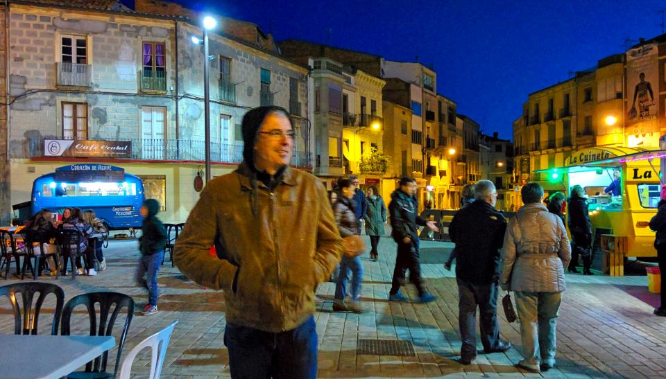 30.04.2016 El temps molt fred  Cervera -  Ramon Sunyer