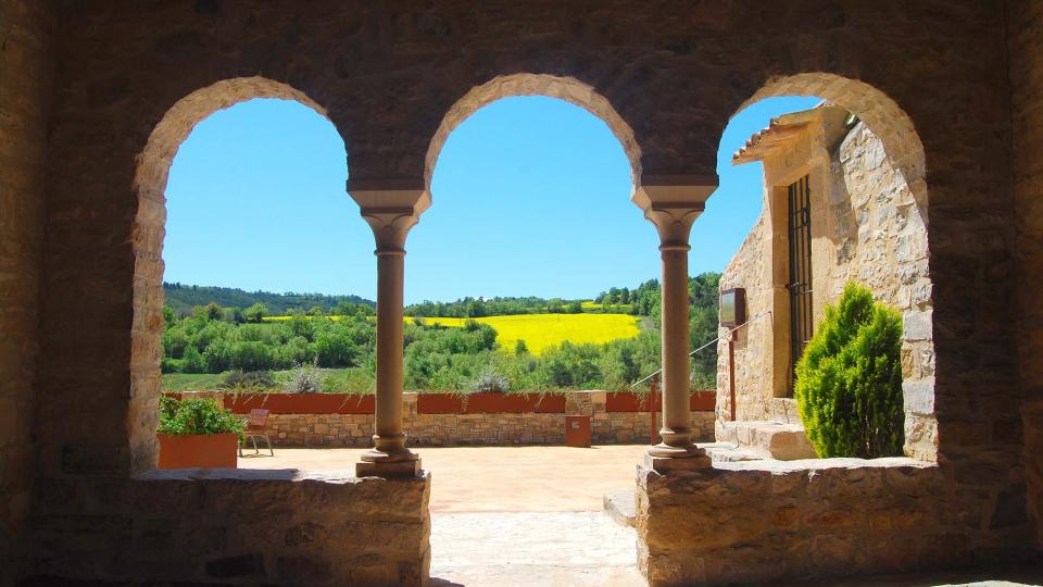 01.05.2016 Església Santa Maria romànic (XII)  Veciana -  Ramon Sunyer