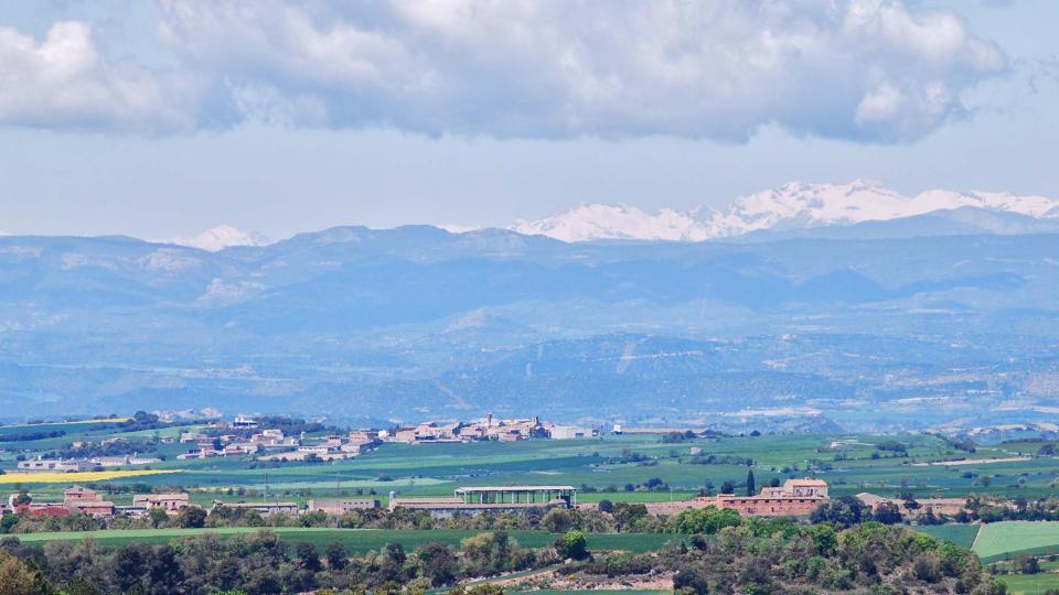 01.05.2016 vista del Pirineu  Pujalt -  Ramon Sunyer