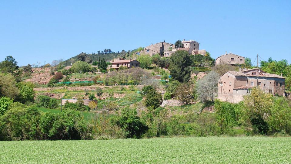 01.05.2016 vista del poble  Veciana -  Ramon Sunyer