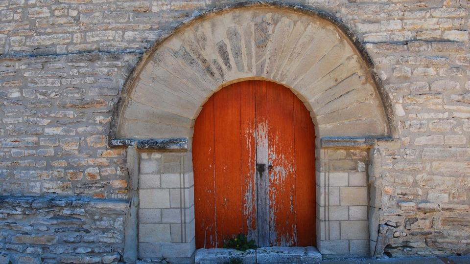 01.05.2016 Església Sant Joan romànic (XII)  Vilamajor -  Ramon Sunyer