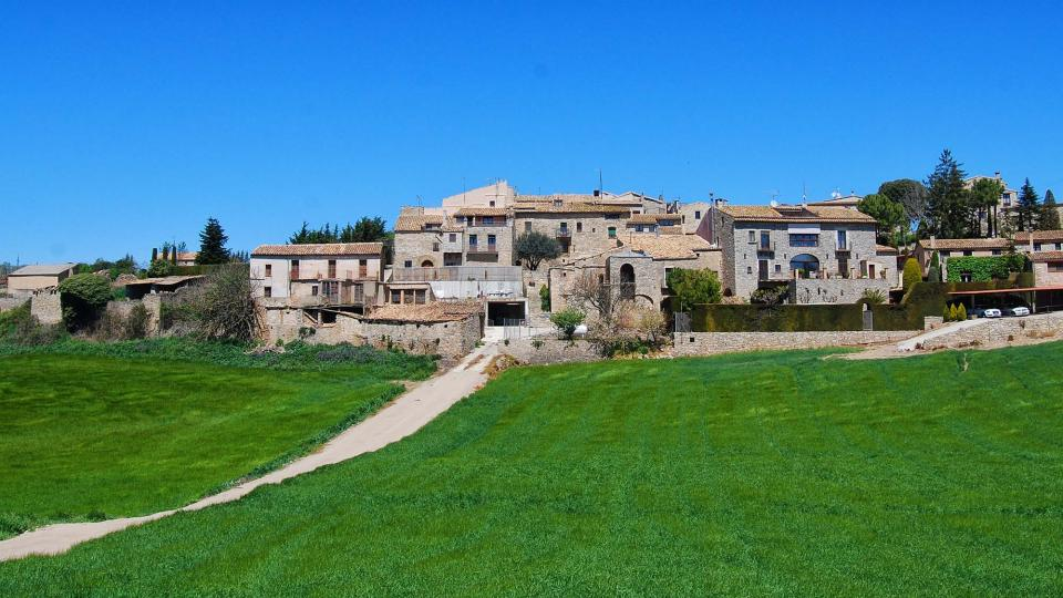 01.05.2016 vista del poble  L'Astor -  Ramon Sunyer