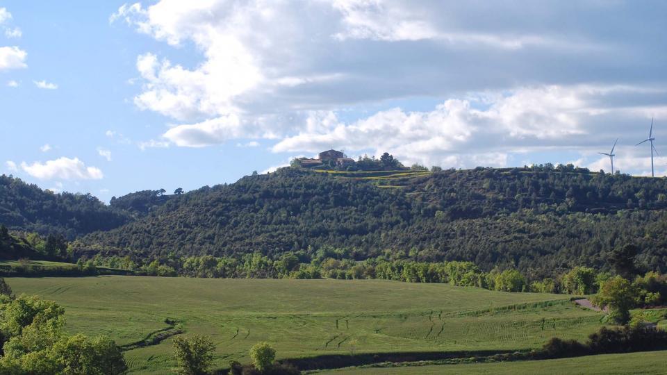 01.05.2016 paisatge  Veciana -  Ramon Sunyer