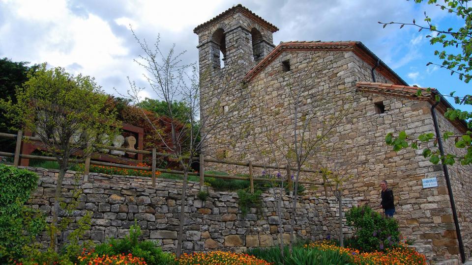 30.04.2016 Església Sant Jaume  La Guàrdia Pilosa -  Ramon Sunyer