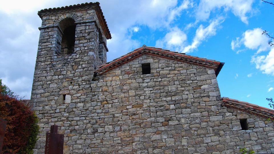 30.04.2016 Església Sant Jaume romànic  La Guàrdia Pilosa -  Ramon Sunyer