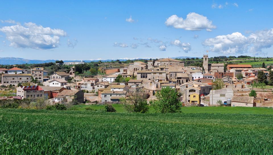 26.04.2016 poble  Sant Guim de la Plana -  Ramon Sunyer