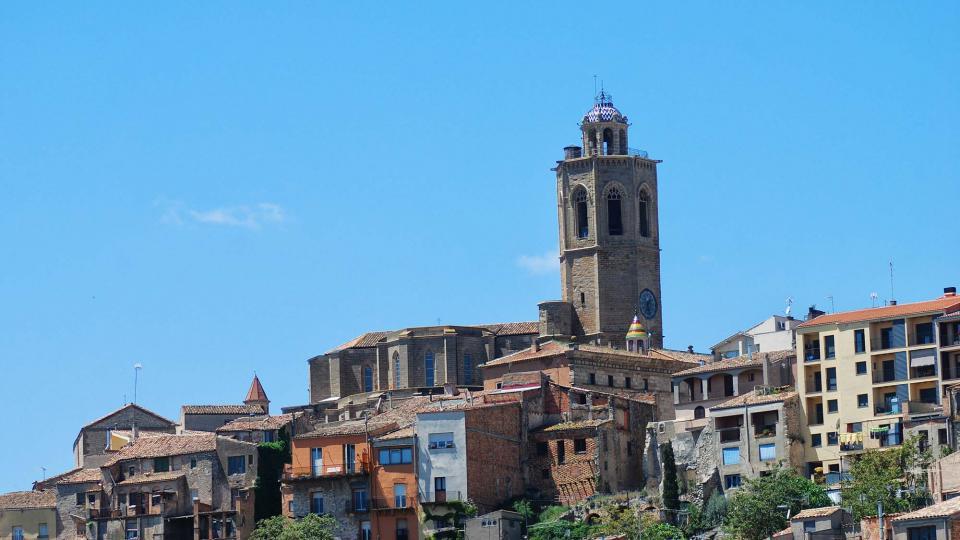 20.05.2016 campanar de santa maria  Cervera -  Ramon Sunyer