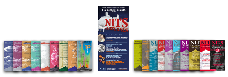 cartell 21 Nits Culturals de Sant Pere Sallavinera