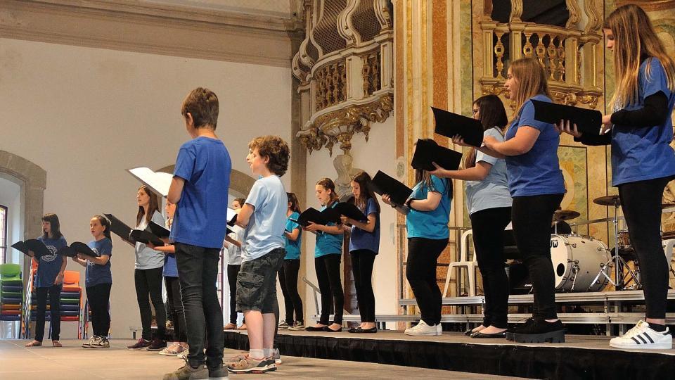05.06.2016 concert de fi de curs de la coral infantil Nova Cervera  Cervera -  Ramon Armengol