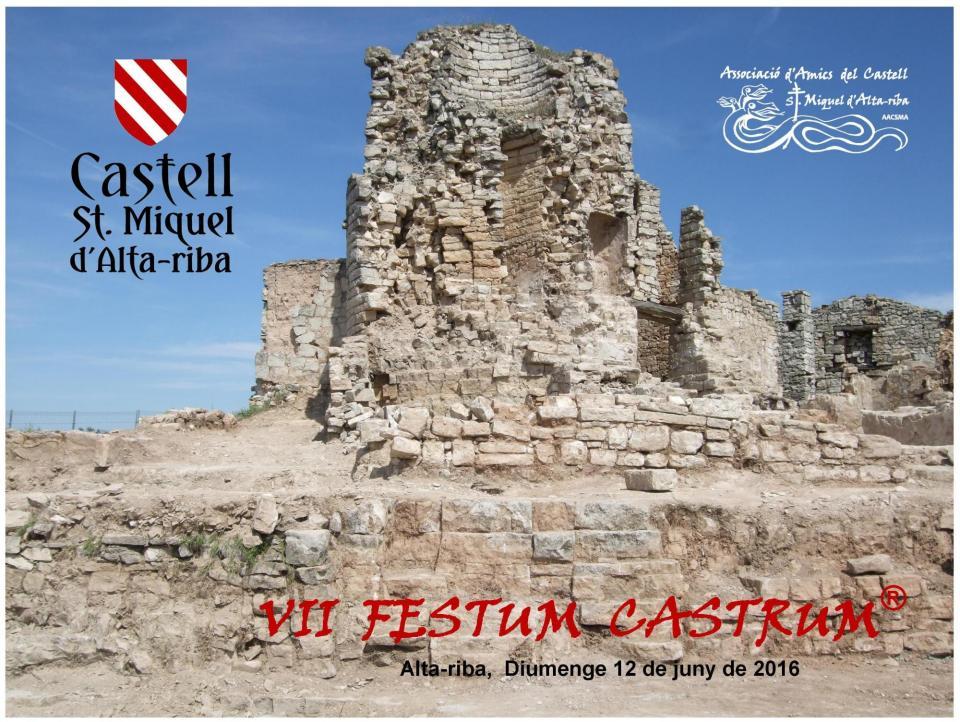 12.06.2016 VII FESTUM CASTRUM  Alta-riba -  AACSMA