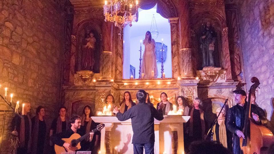 12.06.2016 Concert ITER LUMINIS de Lídia Pujol, a l'ermita de Santesmasses  Sedó -  Jordi Prat
