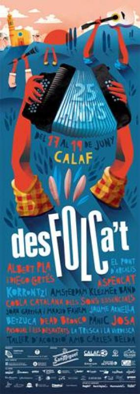 15 concerts per celebrar els 25 anys del Desfolca't aquest cap de setmana a Calaf - Calaf