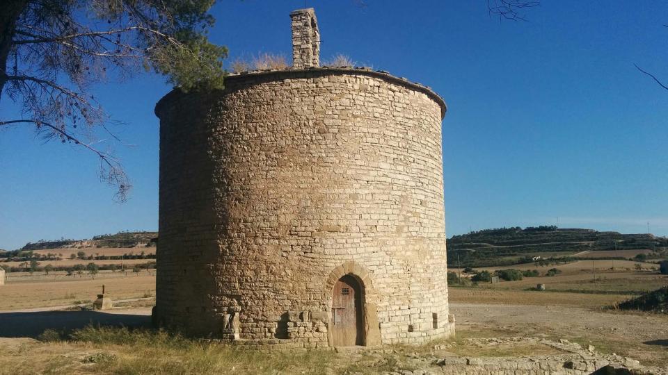 28.08.2015 Església de Sant Pere Gros romànic s XI  Cervera -  Ramon Sunyer