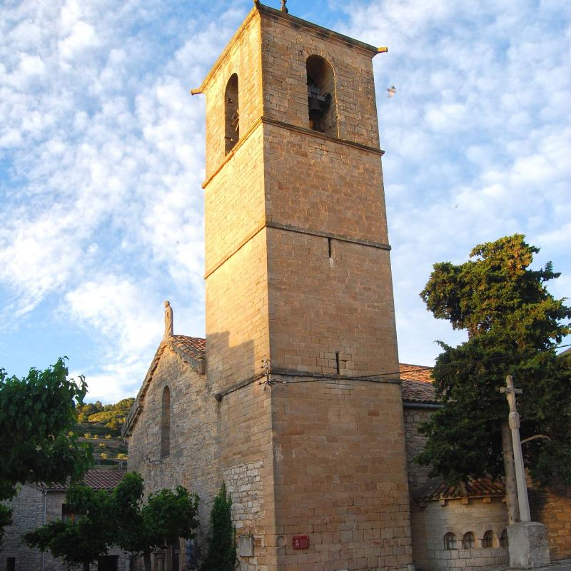 12.06.2016 església de Santa Maria gòtic s. XIII  Vallfogona de Riucorb -  Ramon Sunyer