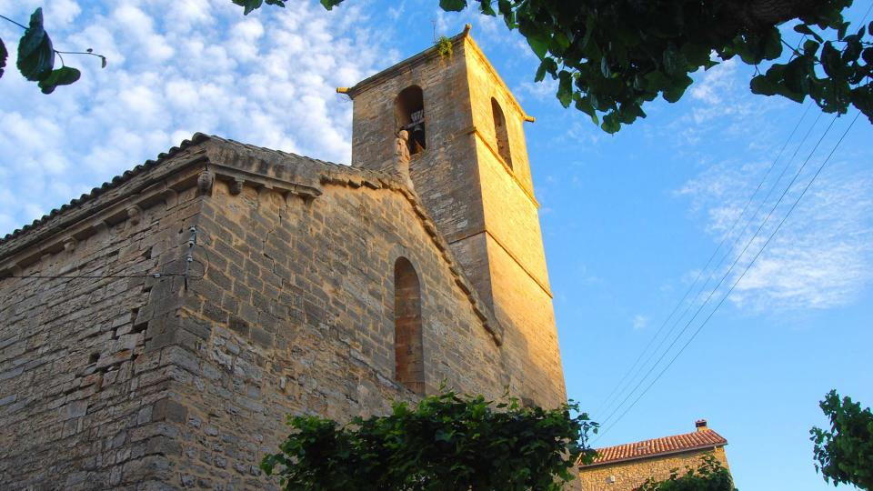 11.06.2016 església de Santa Maria gòtic s. XIII  Vallfogona de Riucorb -  Ramon Sunyer