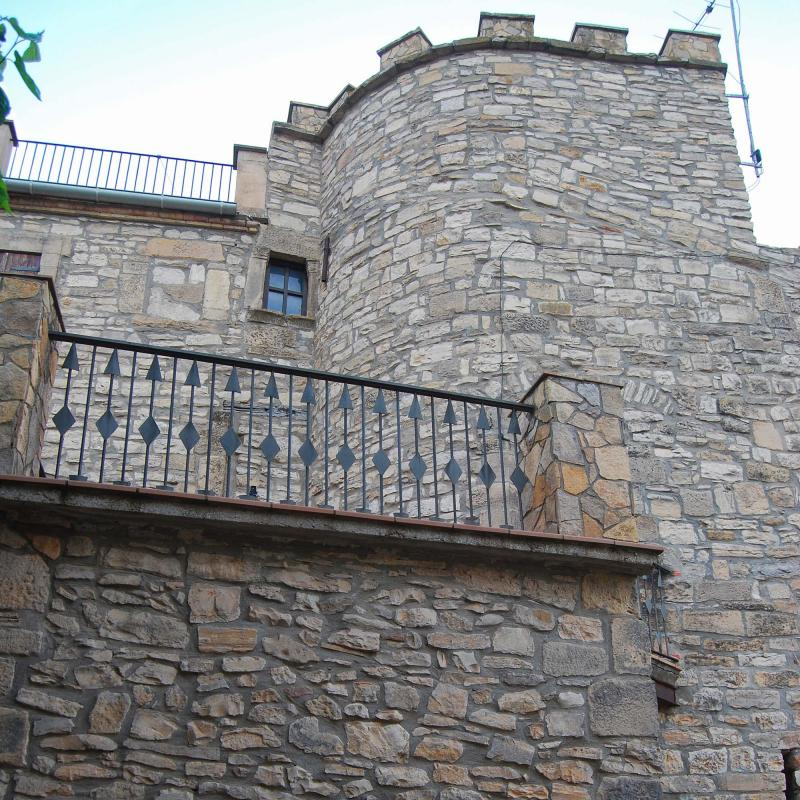 Castillo de Vallfogona - Autor Ramon Sunyer (2016)