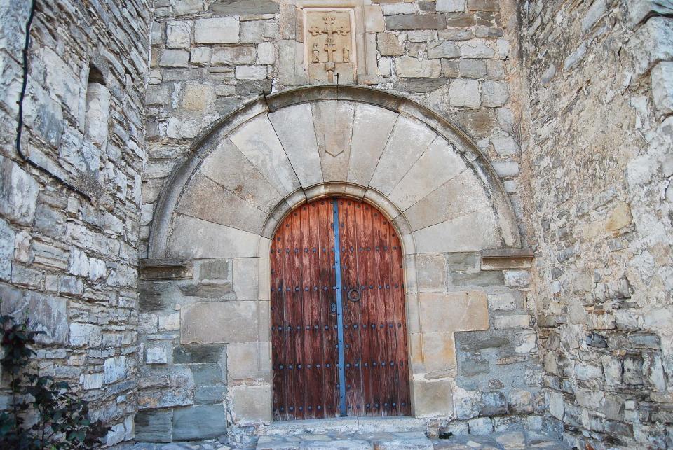 12.06.2016 Església de Sant Gil romànic, gòtic tardà s XII a XVI  Albió -  Ramon Sunyer