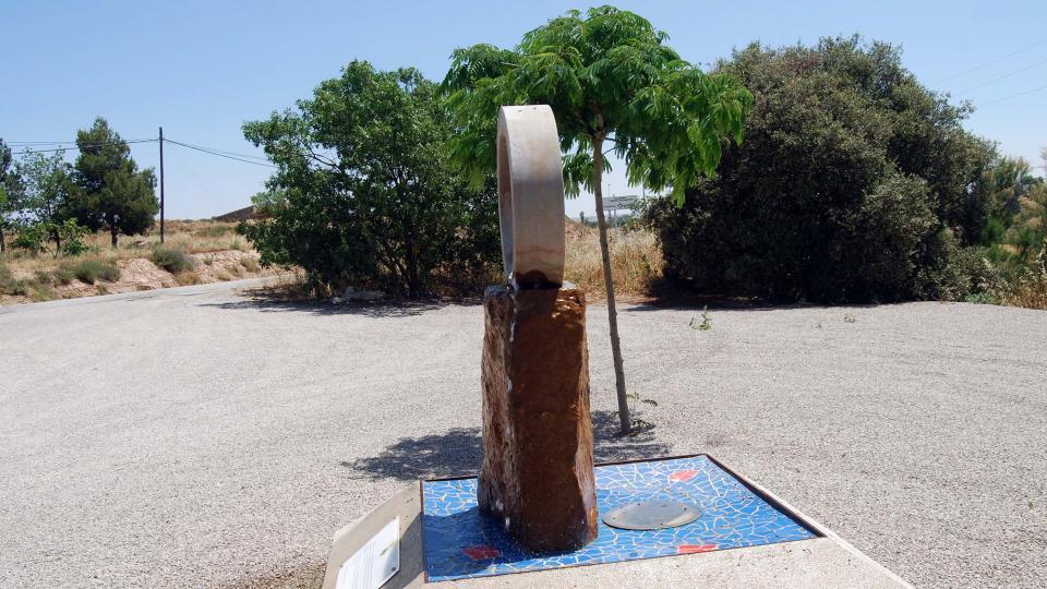 24.06.2016 monument aigua  Concabella -  Ramon Sunyer