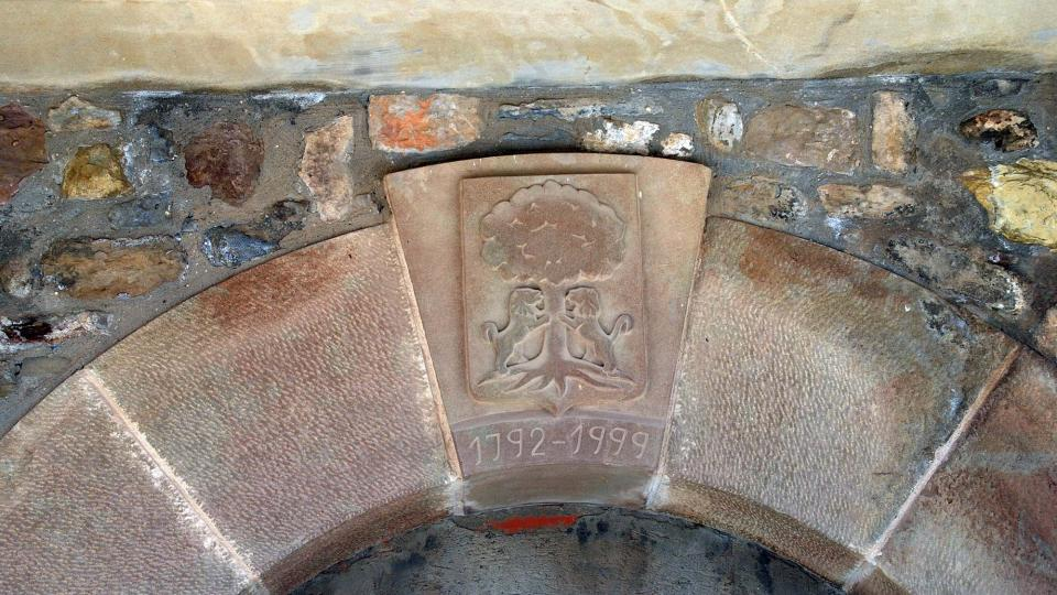 Building  Cal Gendó - Author Ramon Sunyer (2016)