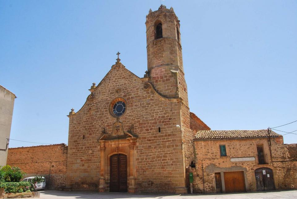 24.06.2016 Església de Santa Maria   Mont-Roig -  Ramon Sunyer