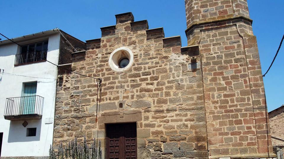 26.06.2016 Església de sant Martí  Sant Martí de la Morana -  Ramon Sunyer