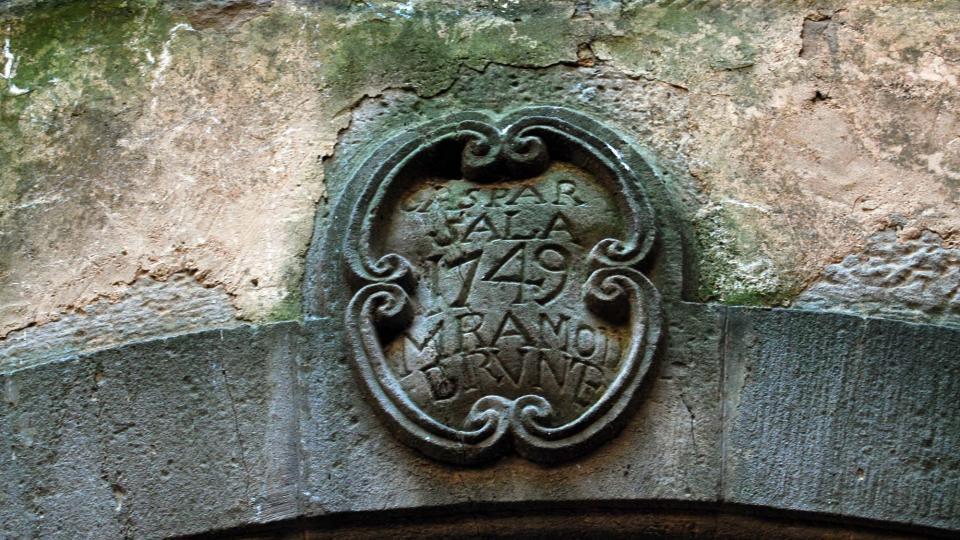 26.06.2016 llinda  Sant Martí de la Morana -  Ramon Sunyer