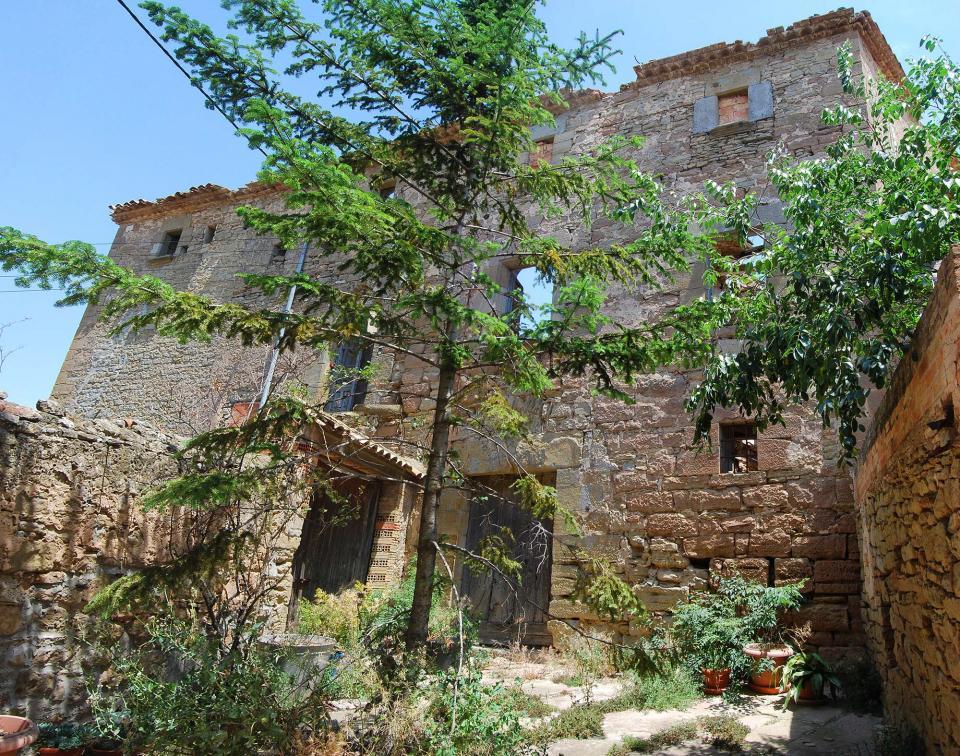 Casa fortificada de Hostafrancs - Autor Ramon Sunyer (2016)